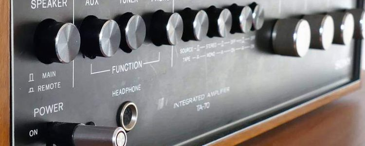 hi-fi amplificatore